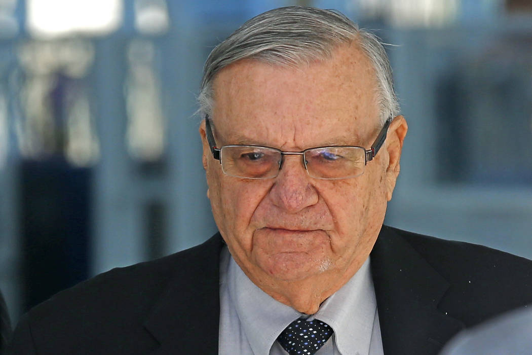 Joe Arpaio found guilty of criminal contempt