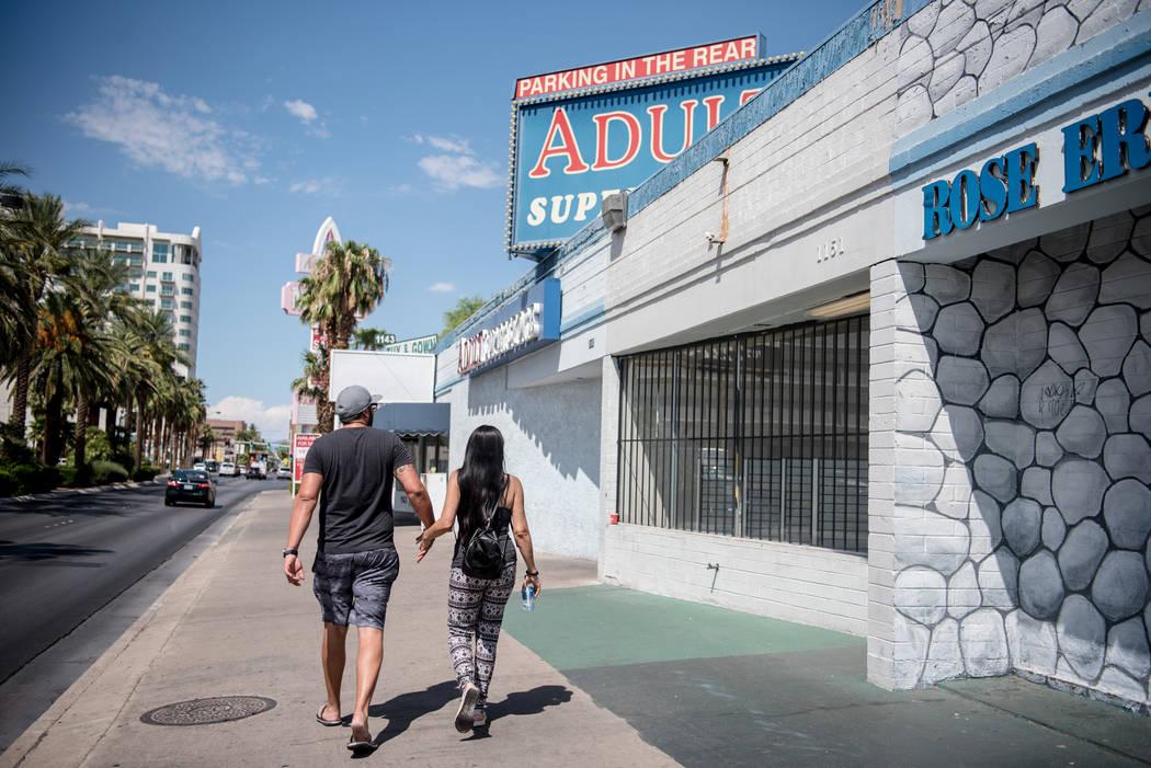 Adult Superstore on Monday, July 31, 2017, in Las Vegas. Morgan Lieberman Las Vegas Review-Journal
