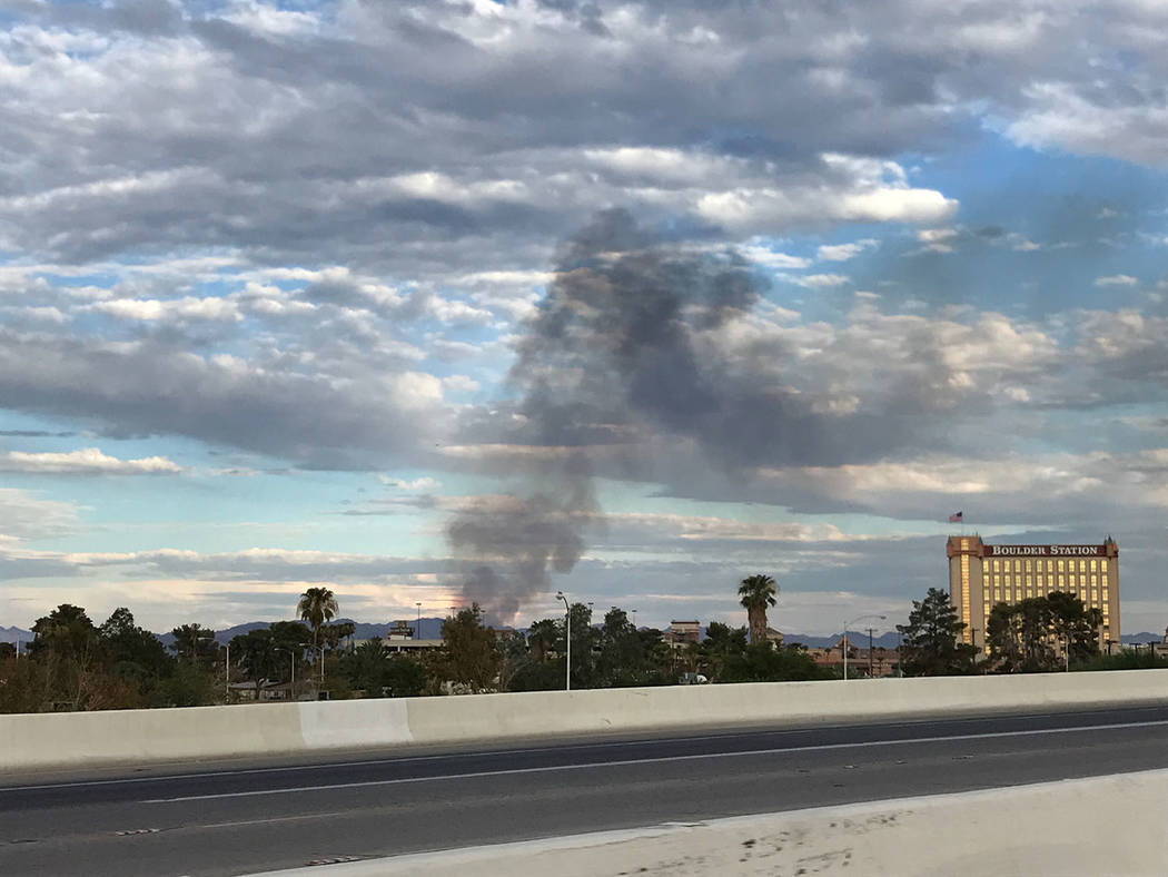 Henderson Fire Department douses brush fire – Las Vegas Review-Journal