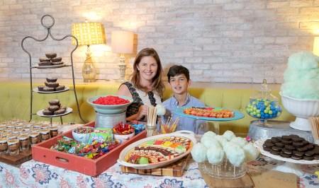 Celebrated restaurateur Elizabeth Blau and her son, Cole, have collaborated on the kids menu at Honey Salt (1031 S. Rampart Blvd., Las Vegas). | COURTESY PHOTO