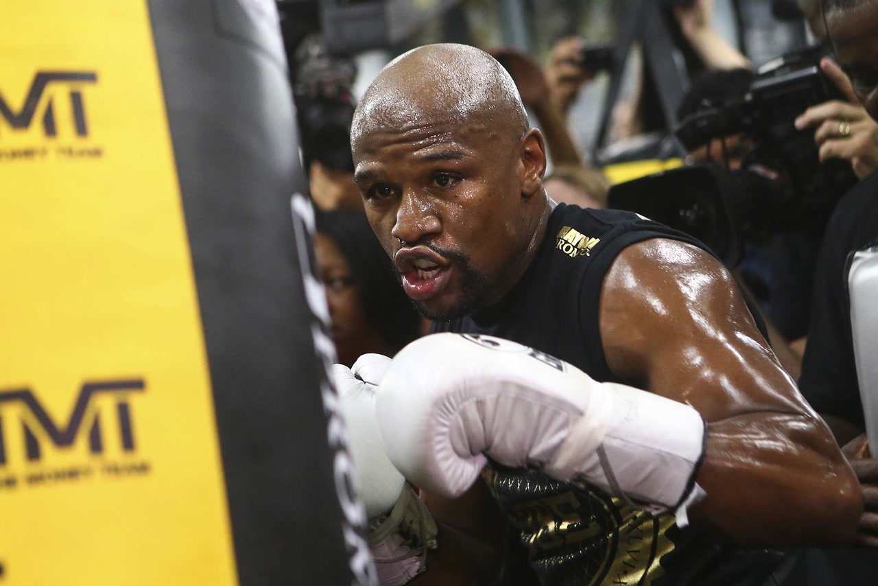 Floyd Mayweather Puts His Legacy On The Line Against Conor