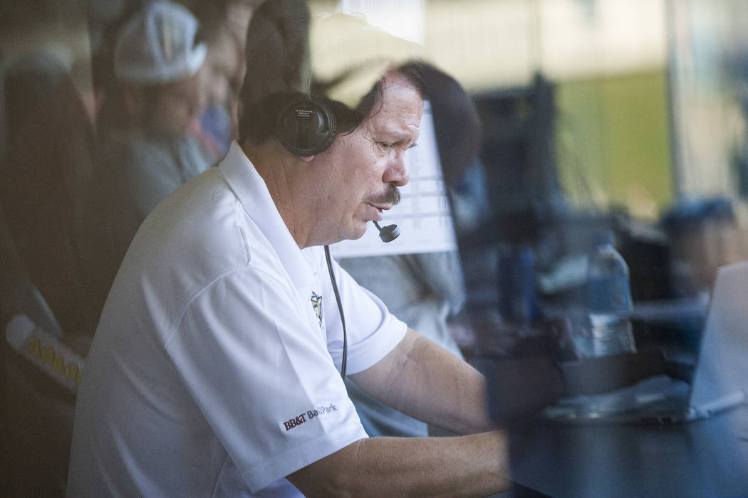 Bard of the booth — Russ Langer marks 18th season as voice of the Las Vegas 51sEntertainment