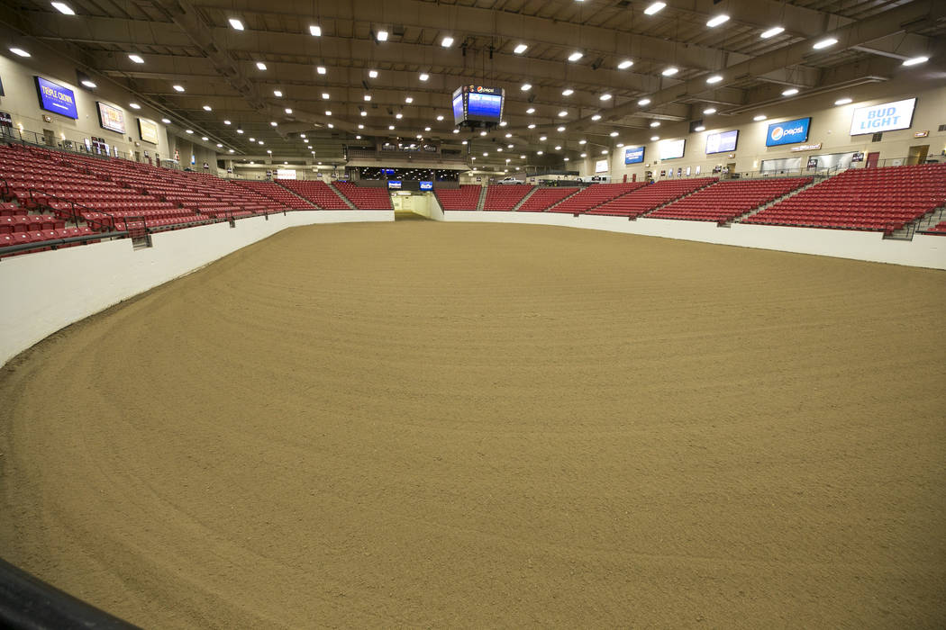 Las Vegas Arena Team Specializes In Prepping Dirt For