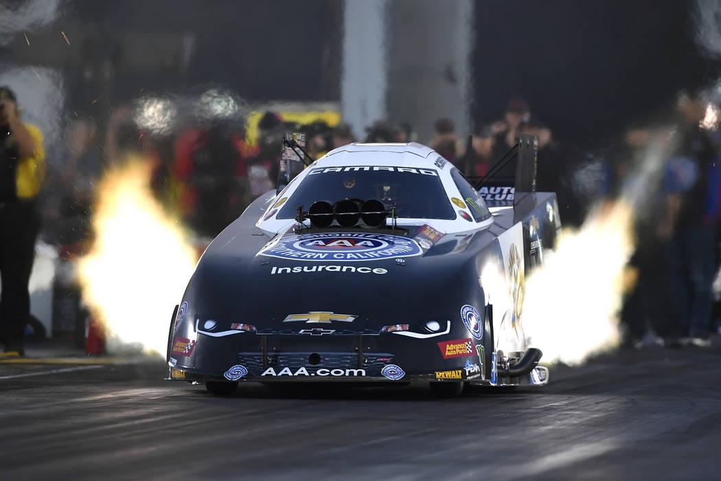 NHRA racer Robert Hight sets speed mark with 339-mph run – Las Vegas ...