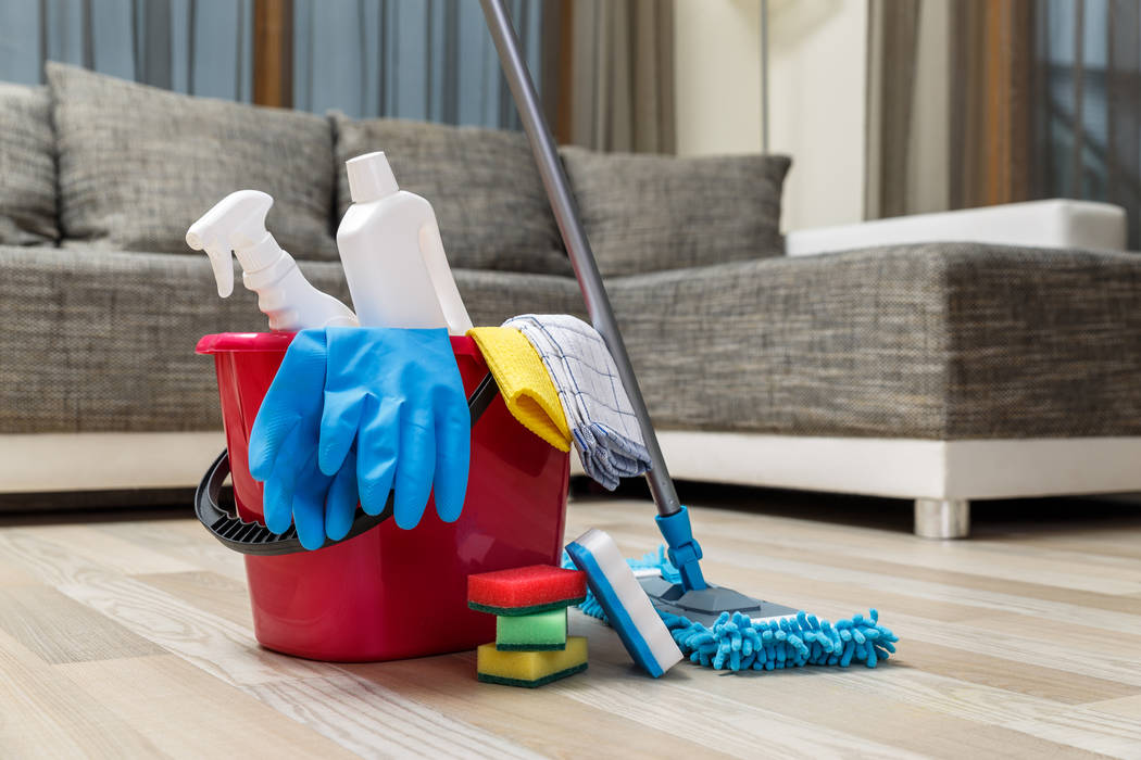 Thinkstock Keeping a home clean and sanitized keeps the family healthy.