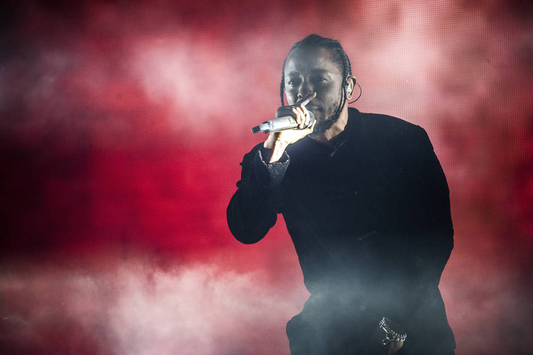 Kendrick Lamar performs at Coachella Music & Arts Festival at the Empire Polo Club on Sunday, April 16, 2017, in Indio, Calif. Amy Harris Invision AP