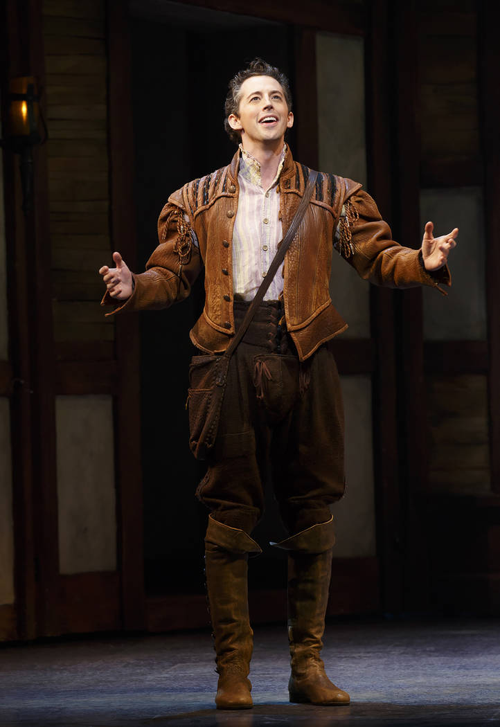 Something Rotten  St. James Theatre  Josh Grisetti Leslie Kritzer Will Chase Rob McClure Brad Oscar Catherine Brunell Edward Hibbert David Beach