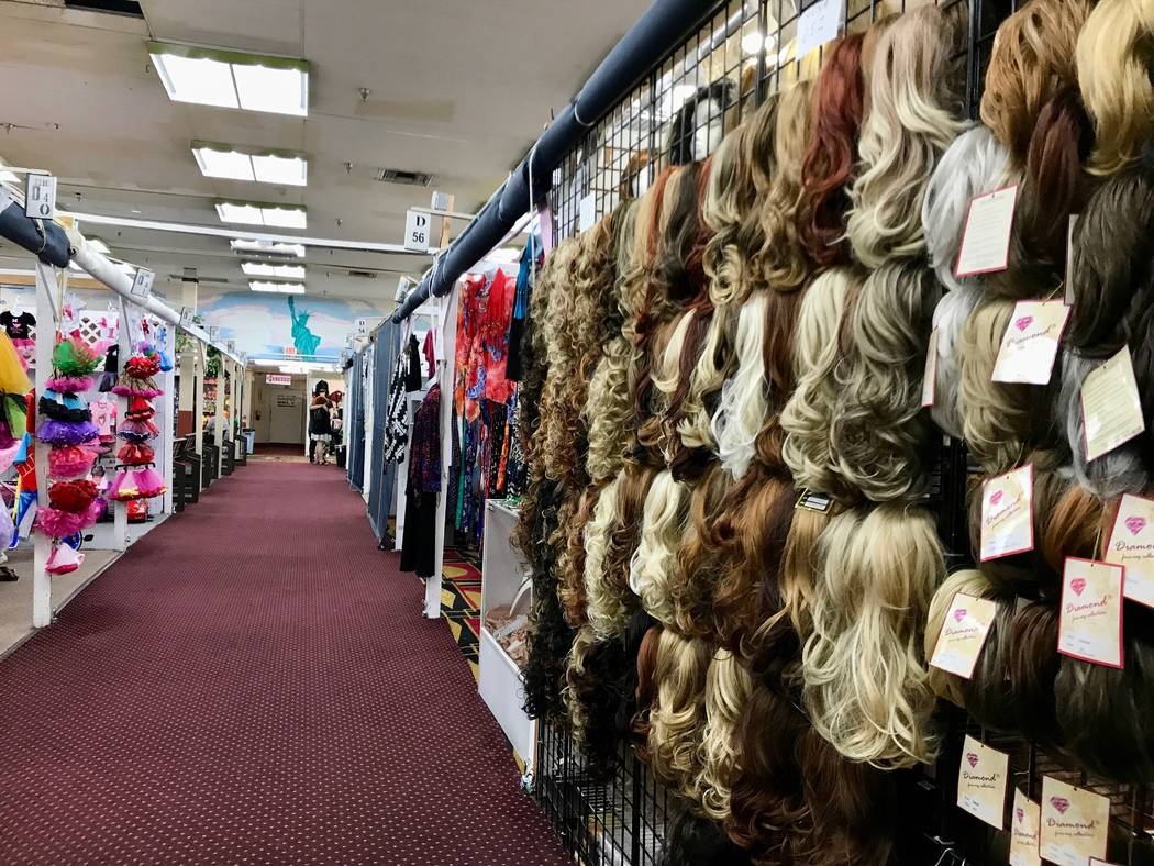 Fantastic Indoor Swap Meet's owners and vendors pride themselves on the variety of products and services that are under one roof. Customers can find wigs, clothing, jewelry, makeup, knives and swo ...