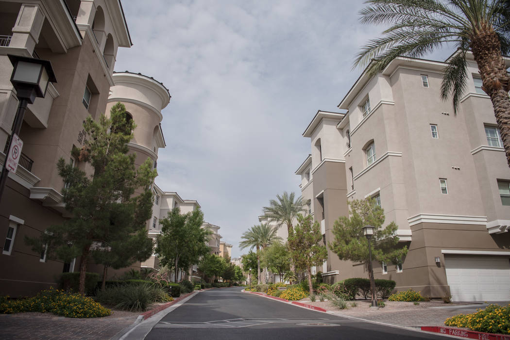 Mira Villa apartments on Thursday, Aug. 3, 2017, in Las Vegas. Morgan Lieberman Las Vegas Review-Journal