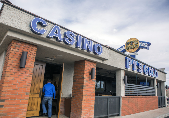 Golden Entertainment operates PT's Pubs chain in Southern Nevada. (Jeff Scheid/Las Vegas Review-Journal( @jeffscheid