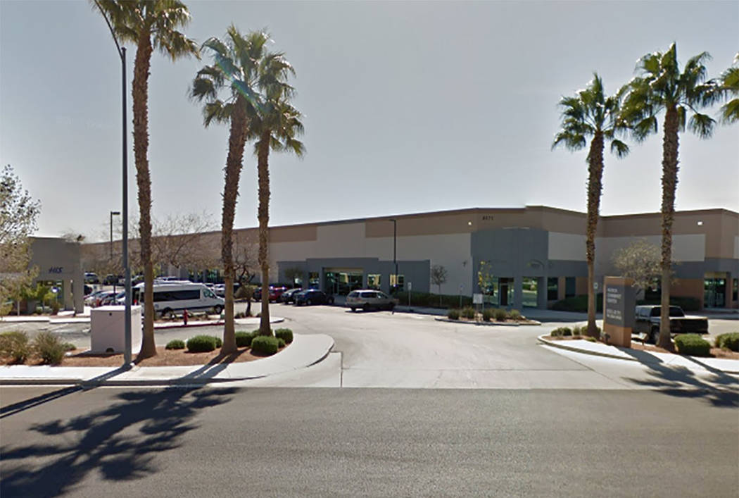 A business complex at 2875 E. Patrick Lane in Las Vegas (Google streetview)