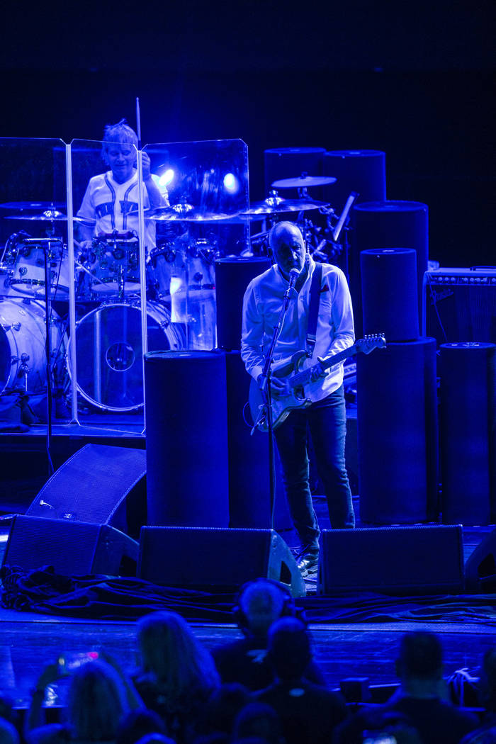 Pete Townshend of The Who performs at the Colosseum at Caesars Palace on Saturday, July 29, 2017.  Patrick Connolly Las Vegas Review-Journal @PConnPie