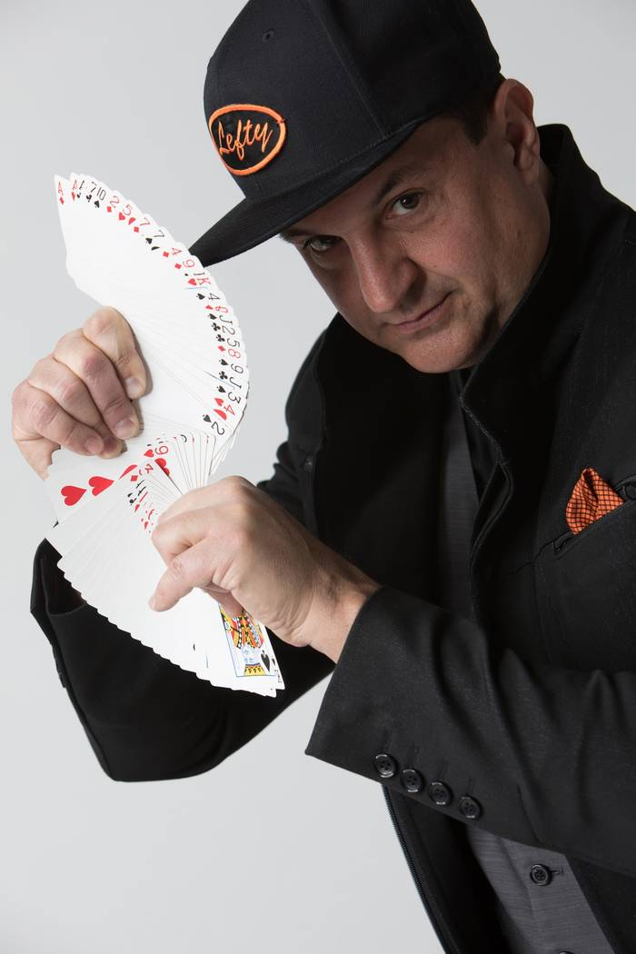 "Las Vegas magician Doug Leferovich performs in the ""Murray: Celebrity Magician"" show at Planet Hollywood.  and has a fill-in for the comedian spot in ""Fantasy"" at Luxor."