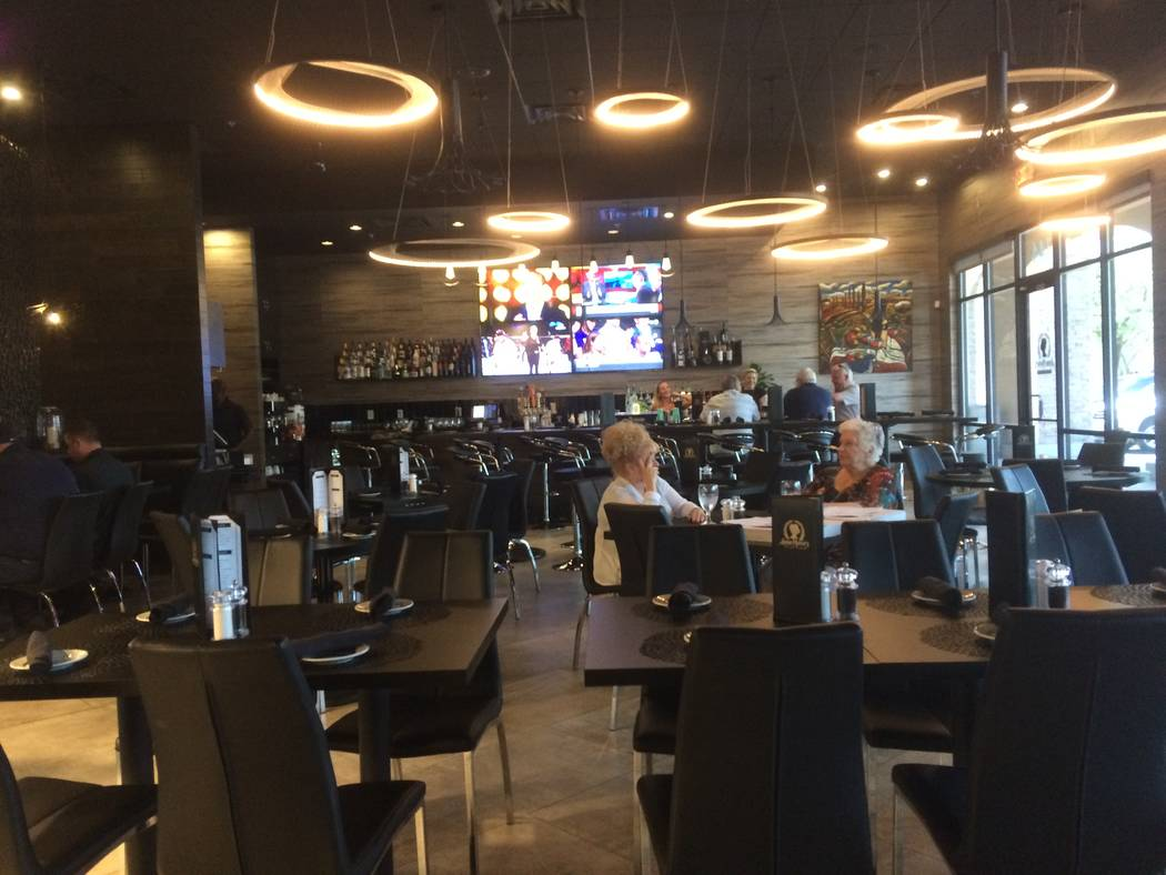 The interior of Anna Marie's Italian Cuisine's is seen in July 2017. The eatery offers a classy, upscale setting that's enhanced by a welcoming staff and food that will have you coming back for  ...