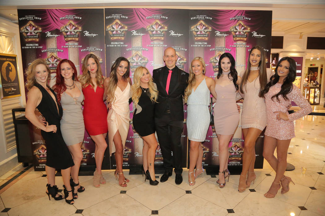 """The cast of """"X-Country"""" at Harrah's. (Courtesy)"""