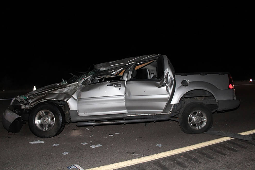 North Las Vegas man dies in US 95 crash near Searchlight | Las Vegas