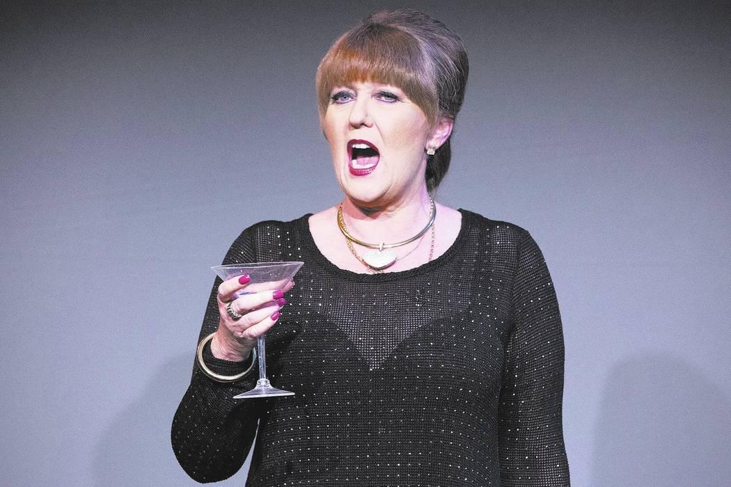 "Kellie Wright rehearses ""Ladies Who Lunch"" at Las Vegas Little Theater on Saturday, Aug. 5, 2017, in Las Vegas. Bridget Bennett Las Vegas Review-Journal @bridgetkbennett"