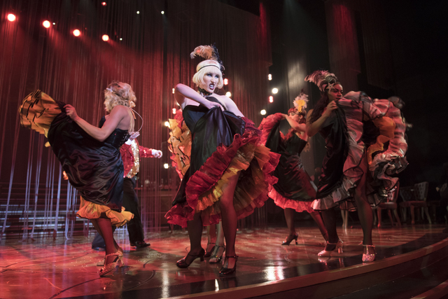 """""""Baz-Star Crossed Love"""" in The Palazzo Theater celebrated one year this week."""