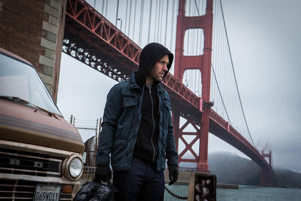 """San Francisco serves as the backdrop for the exploits of the title superhero in 2015's """"Ant-Man."""" (Marvel)"""
