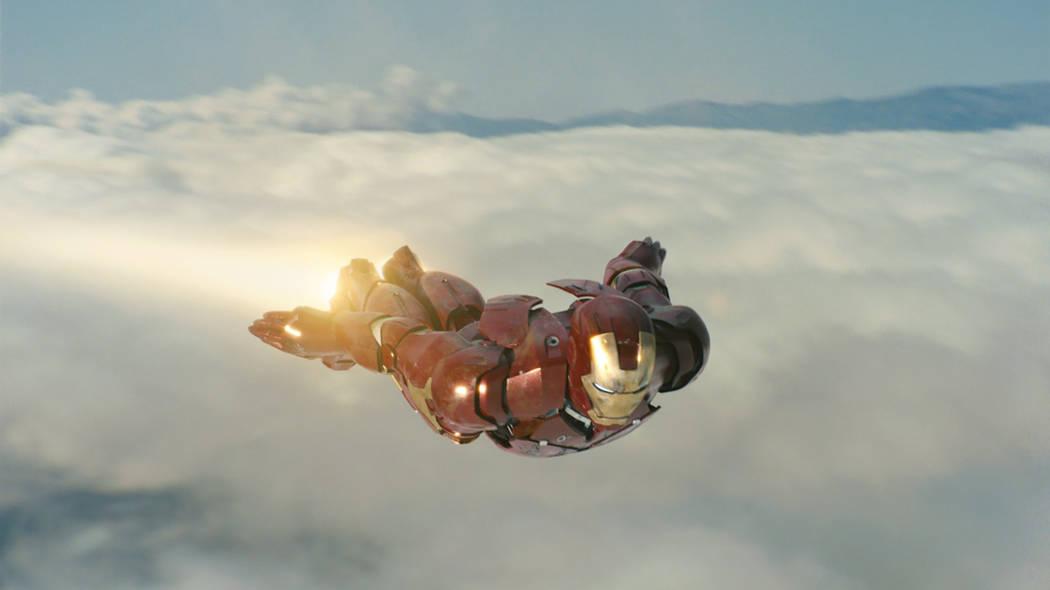 Robert Downey Jr. as Iron Man. (Marvel)