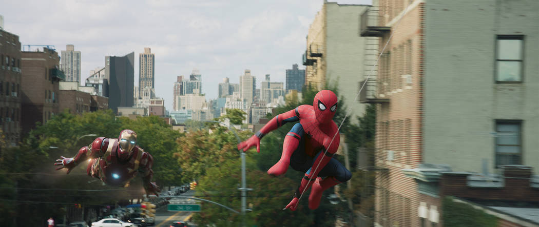 In Spider-Man: Homecoming, a 2017 film, main character Peter Parker lives and goes to school in the New York City borough of Queens, New York. (Courtesy of Columbia Pictures)