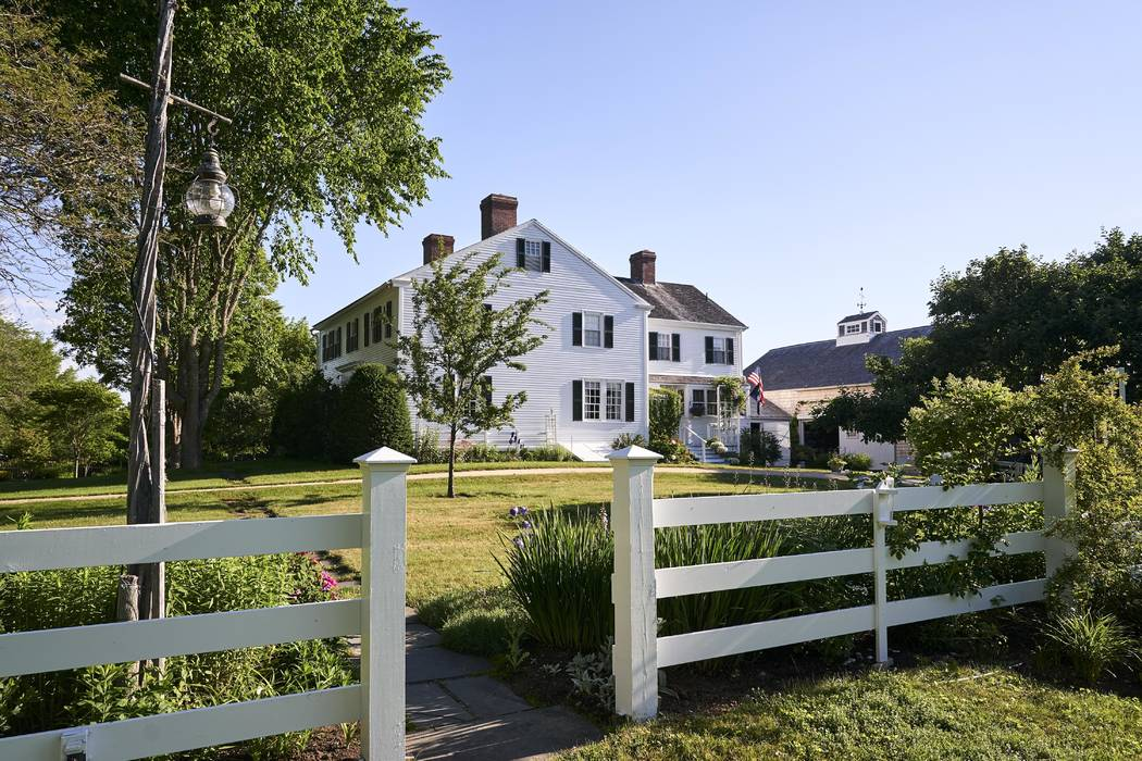 """An oceanfront home where E.B. White lived when he penned """"Charlotte's Web."""" on July, 13, 2017. The home where White lived until his death in 1985 dates to the late 1700s and includes a barn that w ..."""