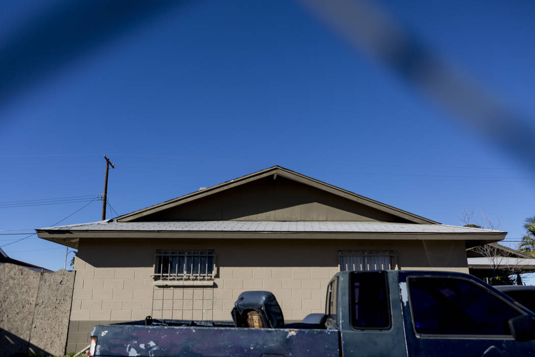 A house at 980 Westminster Ave., where Carol Bishop, 50, was found dead on Nov. 15, 1991, in Las Vegas. Dale Bryant pleaded guilty to the woman's murder. (Elizabeth Brumley/Las Vegas Review-Journa ...