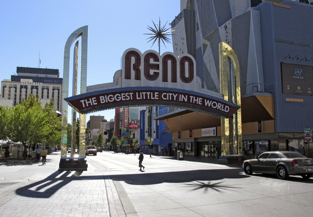 Downtown Reno (Scott Sonner/AP file)