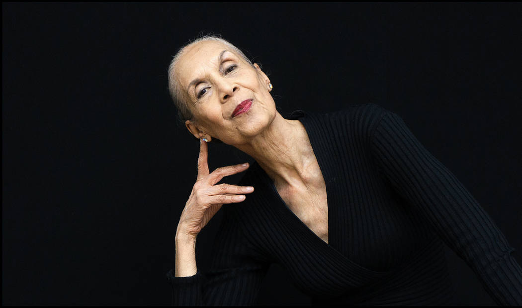 Actress, dancer and choreographer Carmen de Lavallade (Betti Franceschi)