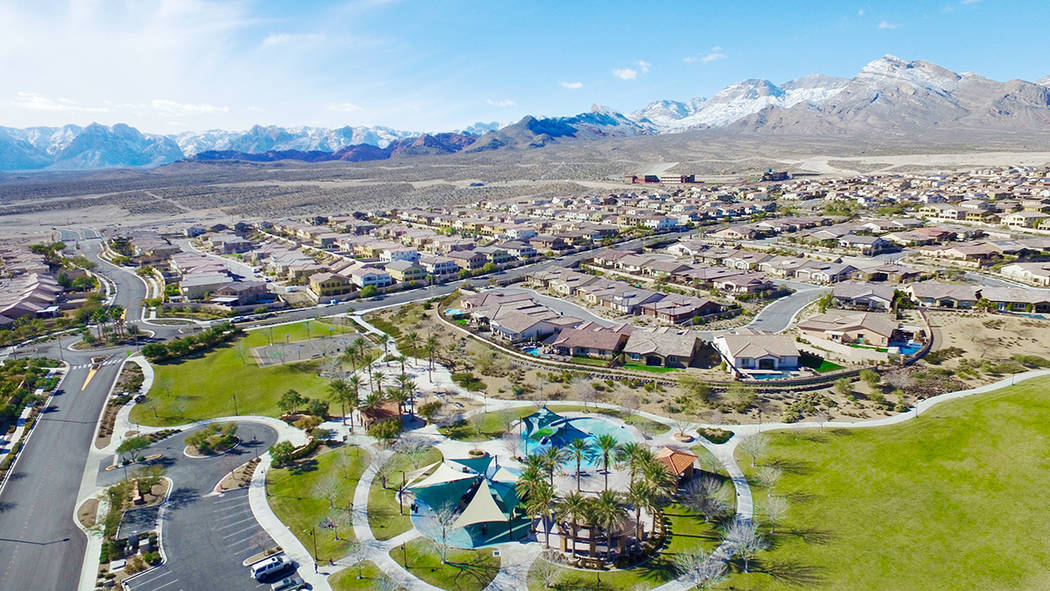 Summerlin has an impressive 27 actively selling neighborhoods in five villages. (Summerlin)