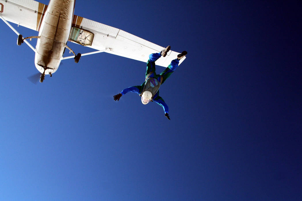 A skydiver leaving a single engine airplane. (Thinkstock)