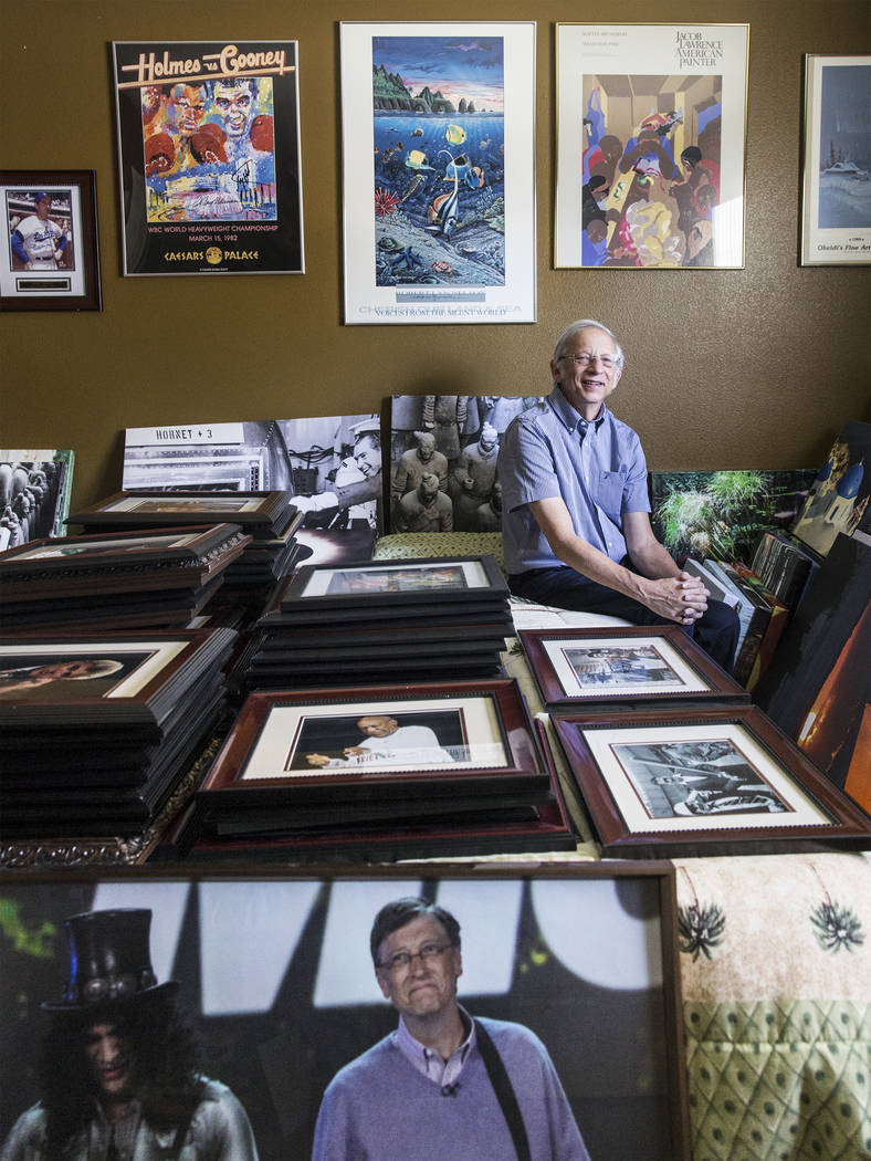 Las Vegan Barry Sweet is a Pulitzer-nominated Associated Press photographer who will have a 50-year retrospective gallery exhibit of his work in September. (Benjamin Hager/Las Vegas Review-Journal ...