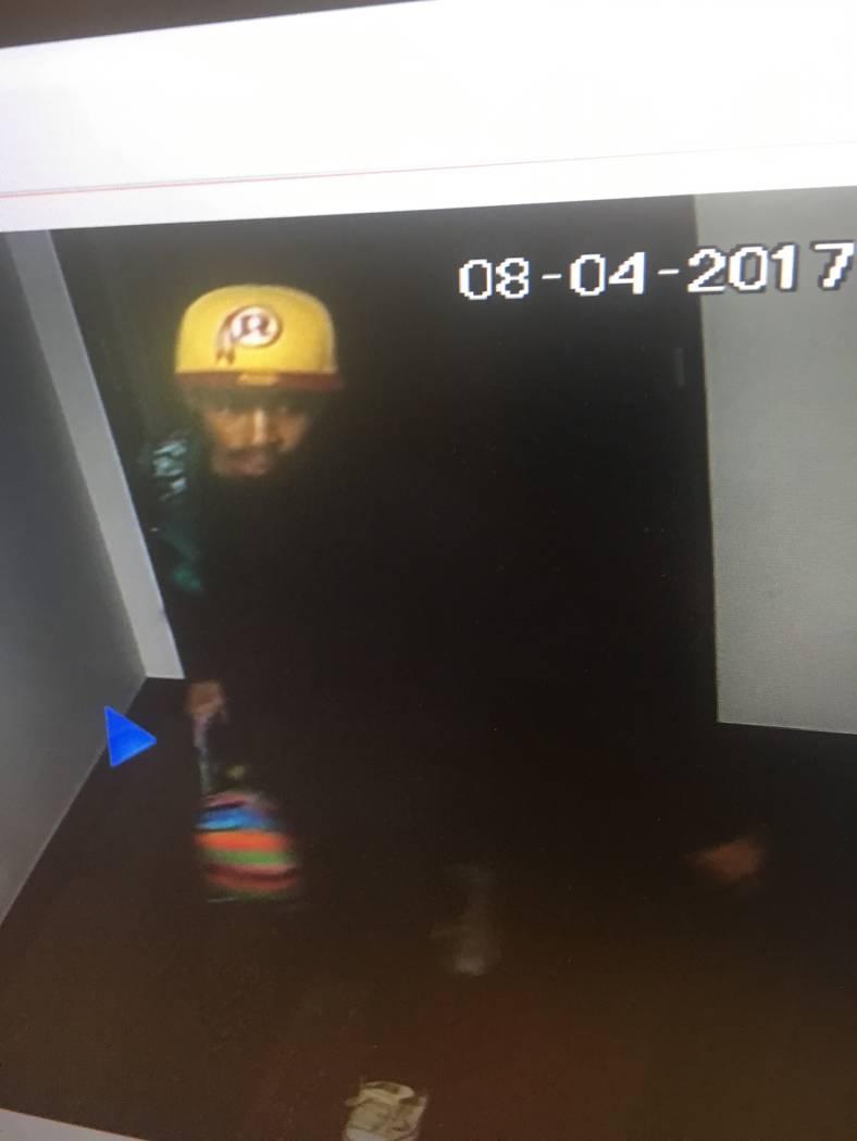 Robbery suspect (Las Vegas Metropolitan Police Department)