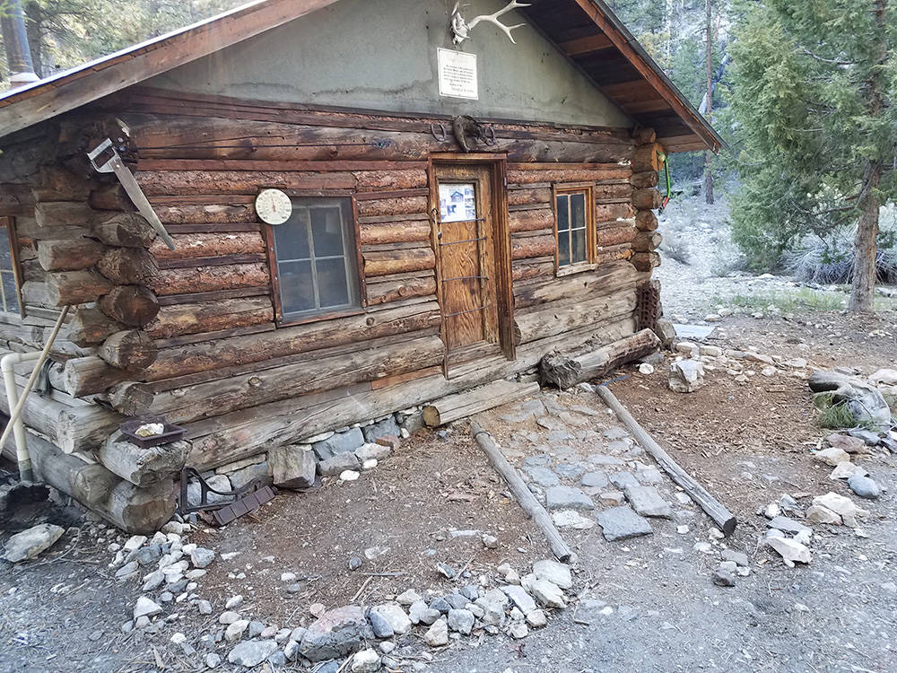 Hidden Forest cabin is seen in May. It is on the National Register of Historic Places. (Spencer Lodge)