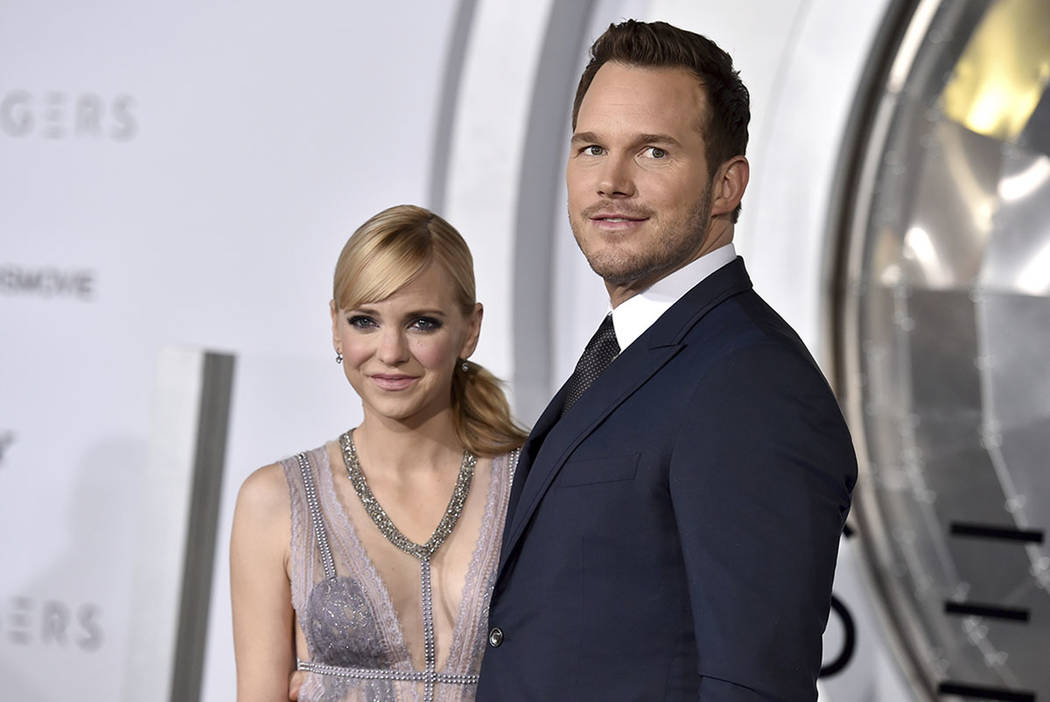 Chris pratt anna faris separating after 8 years of marriage las chris pratt right and anna faris arrive at the los angeles premiere of junglespirit Image collections