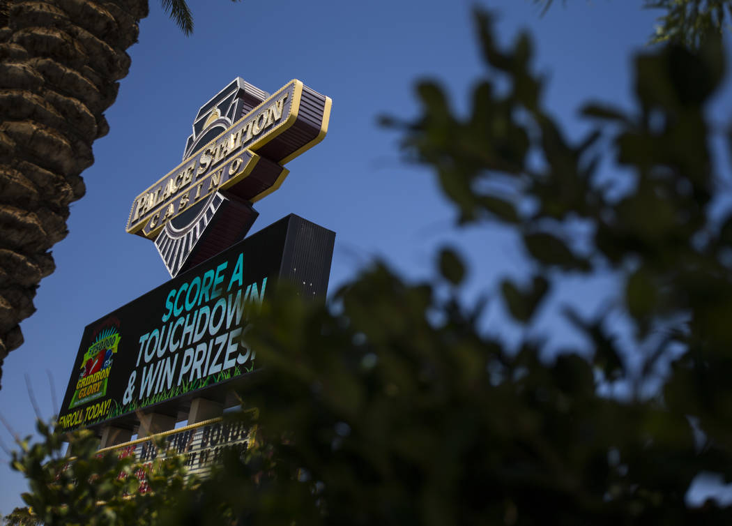Palace Station in Las Vegas on Tuesday, Aug. 8, 2017. Chase Stevens Las Vegas Review-Journal @csstevensphoto