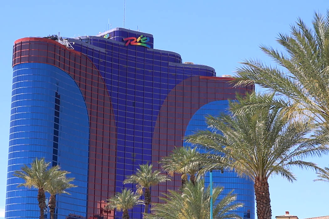 Las Vegas police are investigating an incident Monday at the Rio involving a man hitting a woman and throwing her into a car. (Rio Lacanlale/Las Vegas Review-Journal)