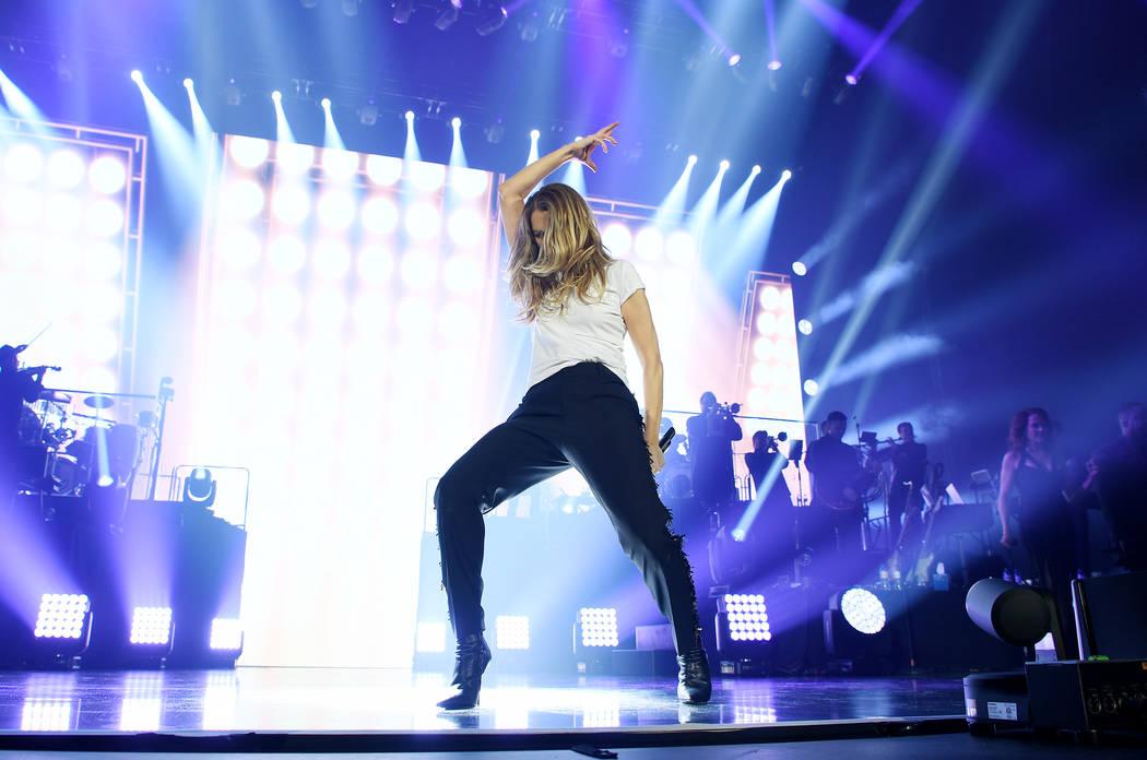 Celine Dion opens European tour in Copenhagen, Denmark, on June 17. (Denise Truscello)