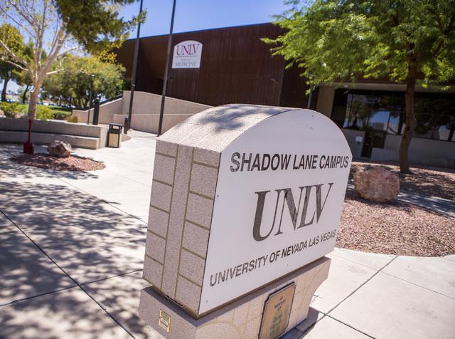 The UNLV Shadow Lane Campus, 1001 Shadow Lane, is seen on Friday, July 15, 2016. Jeff Scheid/Las Vegas Review-Journal Follow @jeffscheid