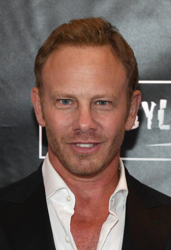 "Actor Ian Ziering attends the premiere of ""Sharknado 5: Global Swarming"" at The LINQ Hotel. (Ethan Miller/Getty Images for Caesars Entertainment)"