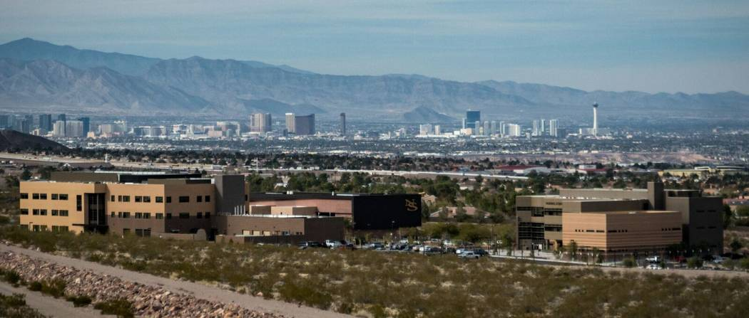 """""""I'd seen from others that the more you know about the real people that work at a place, the better it's gonna be,"""" Shields said. (Nevada State College)"""