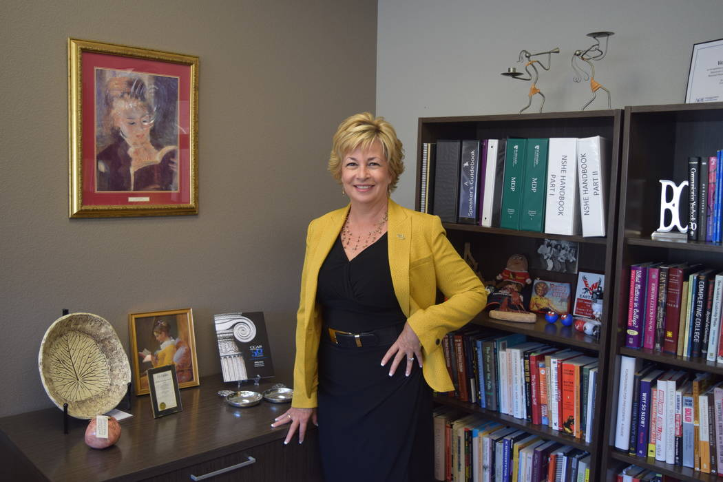 New Nevada State College Provost Dr.Vicki Shields received the title in provost in December 2016. (Alex Meyer/View) @alxmey