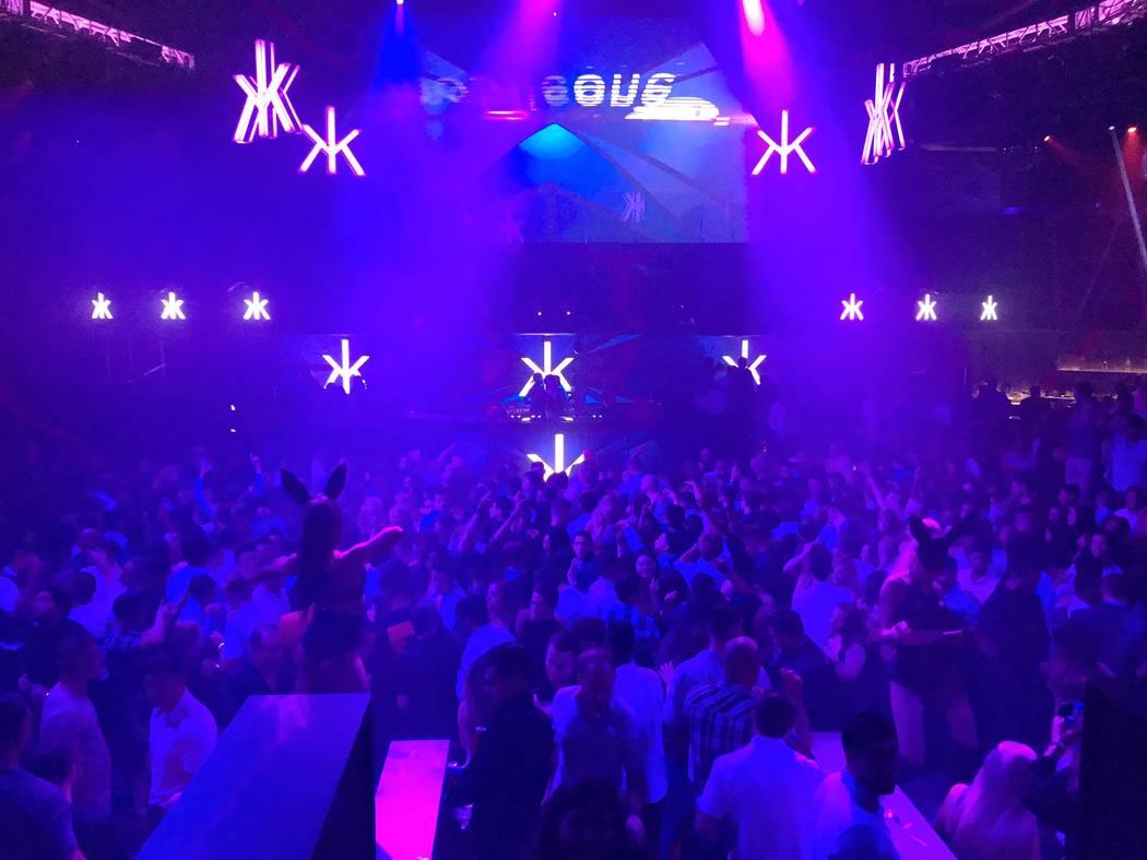 Hakkasan Nightclub inside the MGM Grand in Las Vegas is seen Friday, July 28, 2017. (Todd Prince/Las Vegas Review Journal)