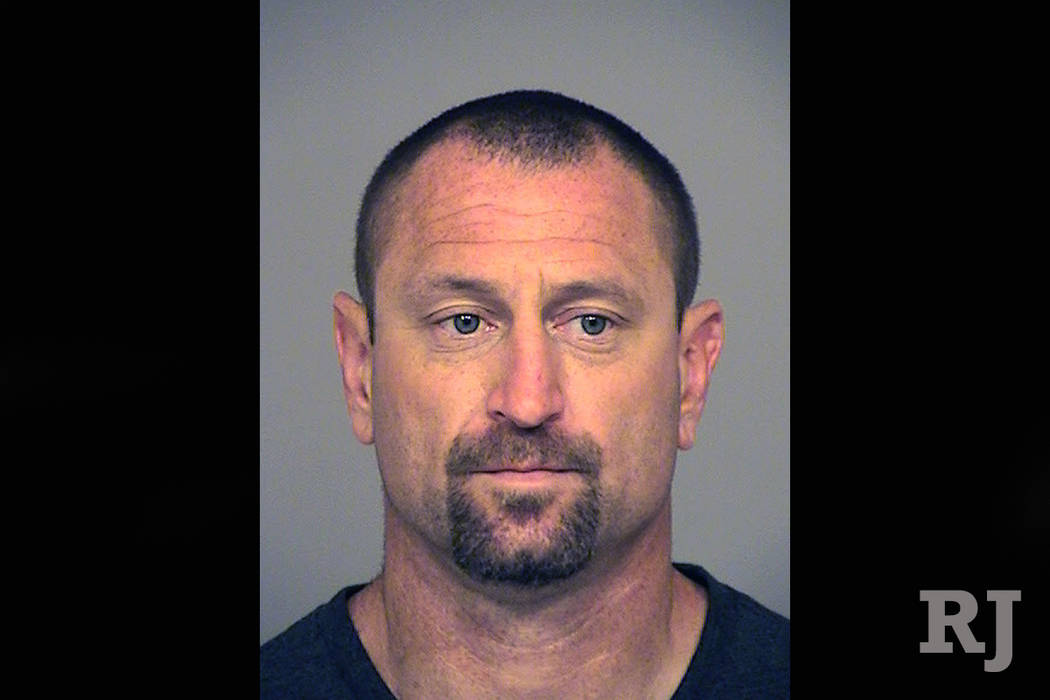 Andrew David Jensen, 42, of Ventura, Calif., who was arrested on July 28, 2017. on suspicion of committing a burglary. California investigators say Jensen, a suspect who stopped for a mid-burglary ...