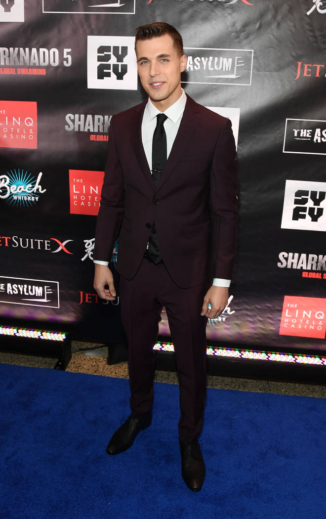 "LAS VEGAS, NV - AUGUST 06:  Actor Cody Linley attends the premiere of ""Sharknado 5: Global Swarming"" at The LINQ Hotel & Casino on August 6, 2017 in Las Vegas, Nevada.  (Phot ..."