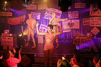 """The Miss Behave Gameshow"" celebrates its grand opening at Bally's. (Greg D'Angelo)"