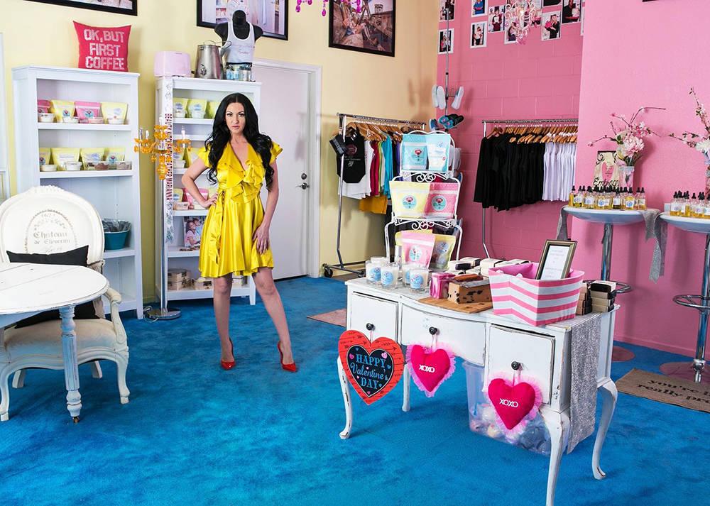 Heather Marianna inside Beauty Kitchen. (Courtesy)