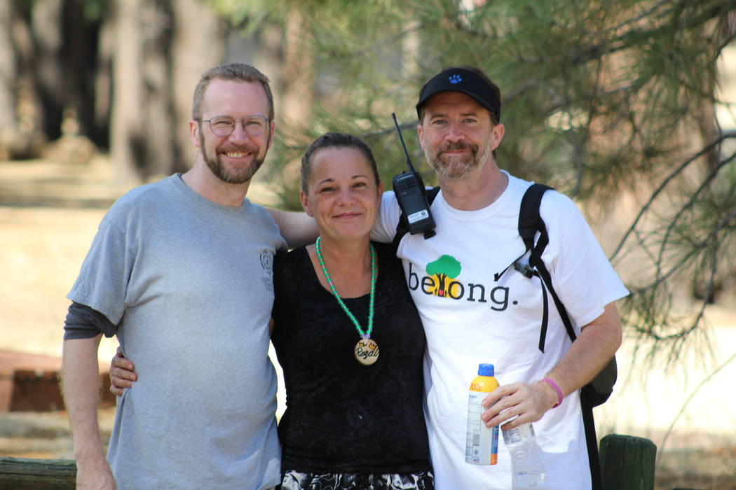 The camp's staff is made up of volunteers mainly in the social work field. (Kevin Nelson)