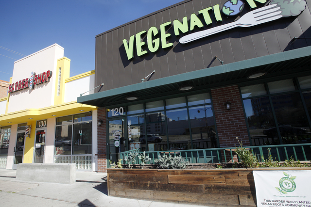 Vegenation on on Thursday, Feb. 16, 2017, in Las Vegas. The vegan restaurant is closed in observance of the Day Without Immigrants protest. (Rachel Aston/Las Vegas Review-Journal) @rookie__rae
