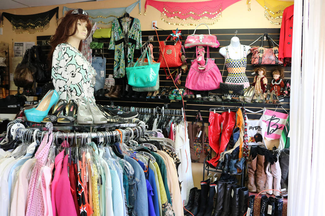 Cleopatra's Treasures offers gently used apparel and vintage items. Janna Karel Las Vegas Vegas Review-Journal